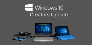 windows 10 creators güncellemesi
