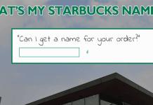 Kahvenize Yazılacak İsmi Tahmin Eden Site: What's My Starbucks Name?
