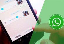 WhatsApp Sesli Mesajlarınızı Göndermeden Önce Dinleyin!