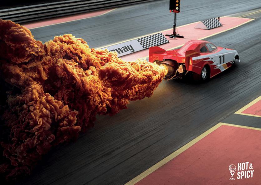 KFC'nin Yakıcı Baharatlı Tavukları