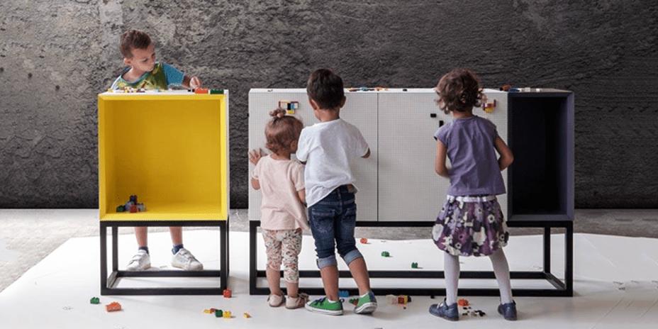 Lego Uyumlu Mobilyalarla Evinizi Oyun Alanına Dönüştürün