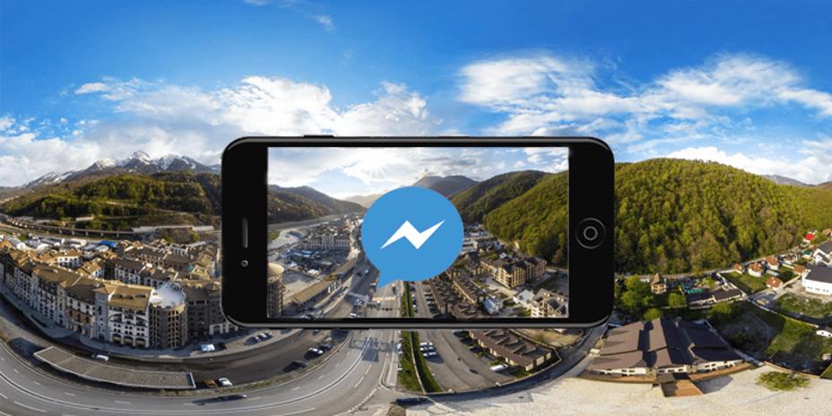 Messenger'e 360 Derece Fotoğraf ve HD Video Desteği Geldi