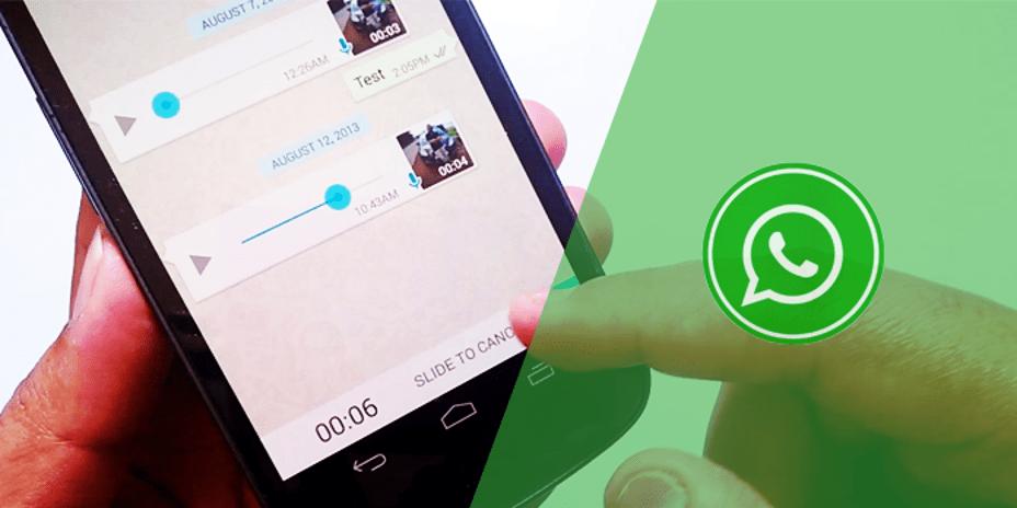 WhatsApp Ses Kayıtlarınızı Göndermeden Dinleyin