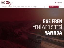 Ege Fren ve Ege Fren Yedek Parça'nın Yeni İnternet Sitesi Yayında!