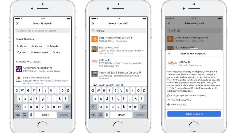 Facebook'un Bireysel Bağış Platformuna Bir Yeni Özellik Daha Geliyor